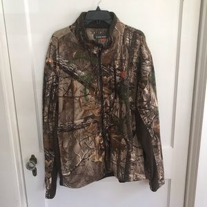 Other - Camo Zip Up Sweater Mens Size 3XL